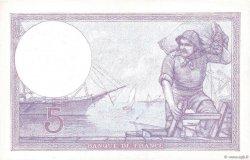 5 Francs VIOLET FRANCE  1924 F.03.08 SUP