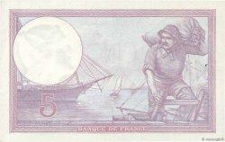 5 Francs VIOLET FRANCE  1927 F.03.11 SUP+