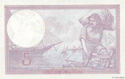 5 Francs VIOLET modifié FRANCE  1940 F.04.16 pr.NEUF