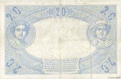 20 Francs NOIR FRANCE  1874 F.09.01 TB