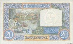 20 Francs SCIENCE ET TRAVAIL FRANCE  1941 F.12.20 SUP