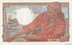 20 Francs PÊCHEUR FRANCE  1950 F.13.17 SPL+