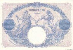 50 Francs BLEU ET ROSE FRANCE  1924 F.14.37 pr.SPL