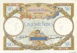50 Francs LUC OLIVIER MERSON type modifié FRANCE  1932 F.16.03 SUP+