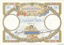 50 Francs LUC OLIVIER MERSON type modifié FRANCE  1934 F.16.05 pr.SUP