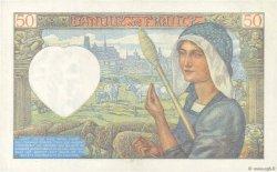 50 Francs JACQUES CŒUR FRANCE  1941 F.19.06 pr.SPL