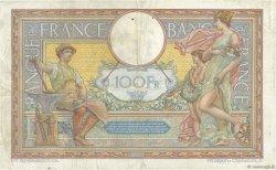 100 Francs LUC OLIVIER MERSON sans LOM FRANCE  1911 F.23.03 TB+