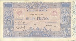 1000 Francs BLEU ET ROSE FRANCE  1895 F.36.07