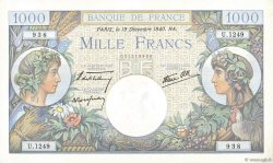 1000 Francs COMMERCE ET INDUSTRIE FRANCE  1940 F.39.03 pr.NEUF