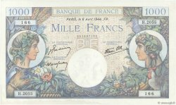 1000 Francs COMMERCE ET INDUSTRIE FRANCE  1944 F.39.05 SPL