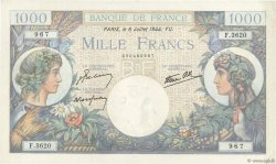 1000 Francs COMMERCE ET INDUSTRIE FRANCE  1944 F.39.10 pr.NEUF