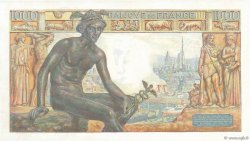 1000 Francs DÉESSE DÉMÉTER FRANCE  1942 F.40.09 NEUF