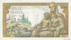 1000 Francs DÉESSE DÉMÉTER FRANCE  1943 F.40.29 NEUF