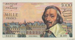 1000 Francs RICHELIEU FRANCE  1955 F.42.10 pr.NEUF