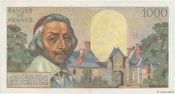 1000 Francs RICHELIEU FRANCE  1956 F.42.19 SPL+