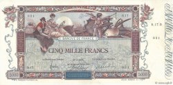 5000 Francs FLAMENG FRANCE  1918 F.43.01