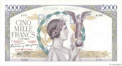 5000 Francs VICTOIRE Impression à plat FRANCE  1939 F.46.09 SPL