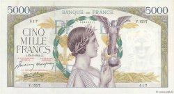 5000 Francs VICTOIRE Impression à plat FRANCE  1944 F.46.50 SUP