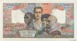 5000 Francs EMPIRE FRANÇAIS FRANCE  1945 F.47.23 SUP à SPL