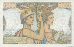 5000 Francs TERRE ET MER FRANCE  1953 F.48.08 pr.NEUF