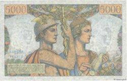 5000 Francs TERRE ET MER FRANCE  1953 F.48.09 SPL