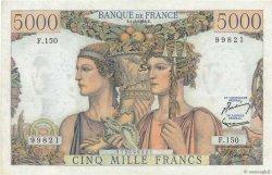 5000 Francs TERRE ET MER FRANCE  1956 F.48.11 SPL
