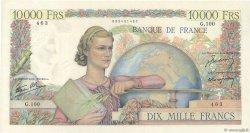 10000 Francs GÉNIE FRANÇAIS FRANCE  1946 F.50.05 TTB à SUP