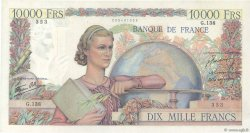 10000 Francs GÉNIE FRANÇAIS FRANCE  1946 F.50.06 SUP
