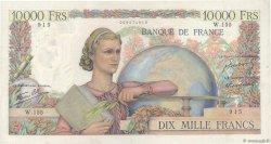 10000 Francs GÉNIE FRANÇAIS FRANCE  1946 F.50.07 TTB