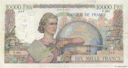 10000 Francs GÉNIE FRANÇAIS FRANCE  1946 F.50.11 TB