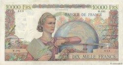 10000 Francs GÉNIE FRANÇAIS FRANCE  1946 F.50.12