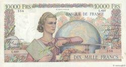 10000 Francs GÉNIE FRANÇAIS FRANCE  1950 F.50.27 pr.SUP