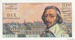 10 Nouveaux Francs RICHELIEU FRANCE  1959 F.57.01 pr.NEUF