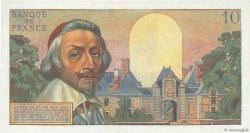 10 Nouveaux Francs RICHELIEU FRANCE  1959 F.57.02 SPL+