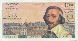 10 Nouveaux Francs RICHELIEU FRANCE  1959 F.57.04 pr.SPL