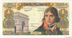 100 Nouveaux Francs BONAPARTE FRANCE  1964 F.59.26 SUP+