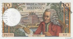 10 Francs VOLTAIRE FRANCE  1963 F.62.00s1a pr.NEUF