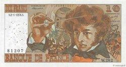 10 Francs BERLIOZ FRANCE  1976 F.63.16b TB