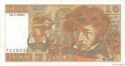 10 Francs BERLIOZ FRANCE  1978 F.63.24b TTB