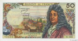 50 Francs RACINE FRANCE  1968 F.64.11 pr.NEUF