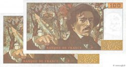 100 Francs DELACROIX FRANCE  1978 F.68.04 / F.69.01c SUP