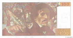 100 Francs DELACROIX imprimé en continu FRANCE  1990 F.69bis.01b2 pr.NEUF