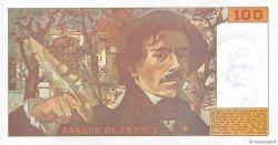 100 Francs DELACROIX imprimé en continu FRANCE  1990 F.69bis.02e1 NEUF