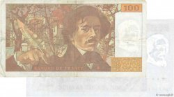 100 Francs DELACROIX  UNIFACE FRANCE  1993 F.69u.07 NEUF