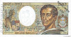 200 Francs MONTESQUIEU FRANCE  1981 F.70.00 NEUF
