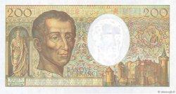 200 Francs MONTESQUIEU Modifié FRANCE  1994 F.70/2.02a pr.NEUF