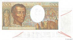 200 Francs MONTESQUIEU UNIFACE FRANCE  1985 F.70u.02 pr.NEUF