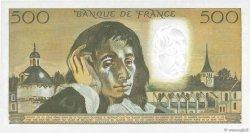 500 Francs PASCAL FRANCE  1969 F.71.04 SPL