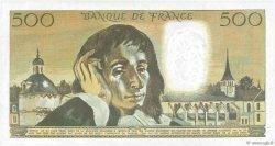 500 Francs PASCAL FRANCE  1970 F.71.05 SPL
