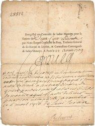 200 Livres FRANCE  1709 Laf.13 TB